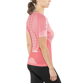 X-Bionic W's Speed Evo Running Shirt SS Pink Paradise/Pearl Grey